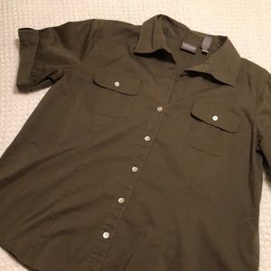 Chico's blouse, size 2